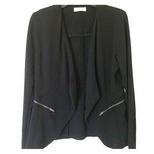 Black Crepe Blazer